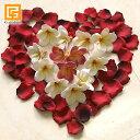 ローズの花びら【 造花 リアル バラ ローズ ウェルカムフラワー ウェディング 結婚式 フラワーシャワー アートフラワ…