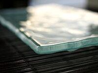 バリホテルガラス製プレート(フランジパニ)