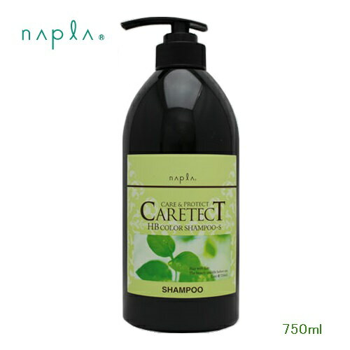 【NAPLA CARETECT HB】ナプラケアテクトHB カラーシャンプーS 750ml