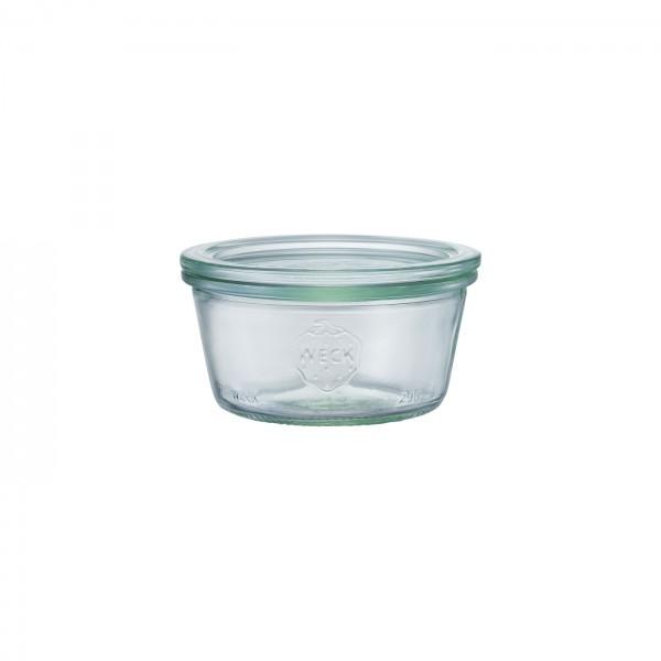 WECK (ウェック)ガラスキャニスター(250ml)Mold Shape(モールドシェイプ)WE-740