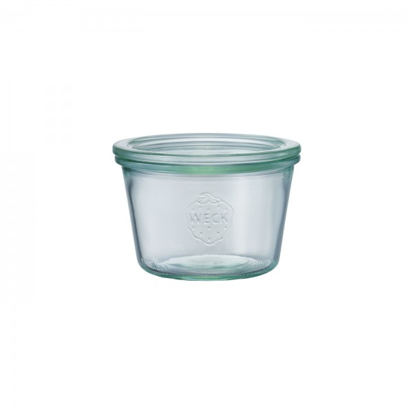 WECK (ウェック)ガラスキャニスター(300ml)Mold Shape(モールドシェイプ)WE-741