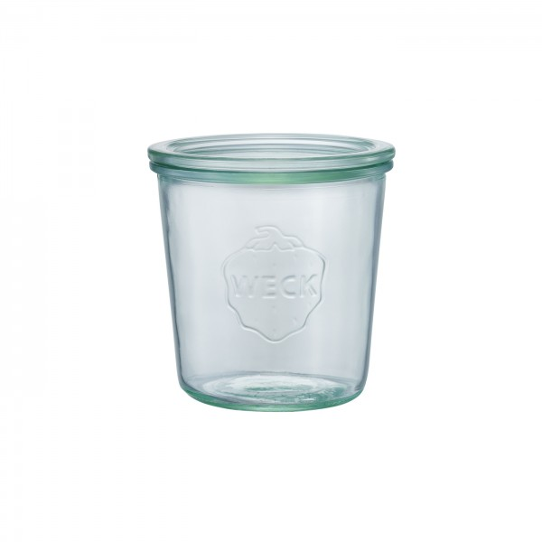 WECK (ウェック)ガラスキャニスター(500ml)Mold Shape(モールドシェイプ)WE-742