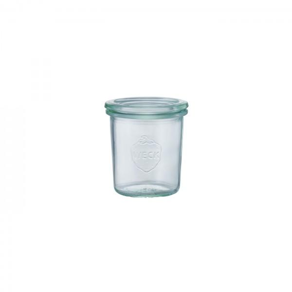 WECK (ウェック)ガラスキャニスター(140ml)Mold Shape(モールドシェイプ)WE-761