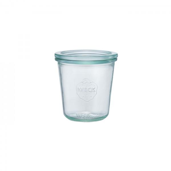 WECK (ウェック)ガラスキャニスター(290ml)Mold Shape(モールドシェイプ)WE-900
