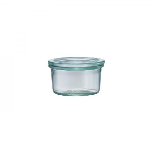 WECK (ウェック)ガラスキャニスター(165ml)Mold Shape(モールドシェイプ)WE-976