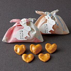 あづま袋(ハートせんべい) 内祝い 出産祝い 出産内祝い 結婚内祝い 結婚祝い 記念品 ギフト 景品 プレゼント