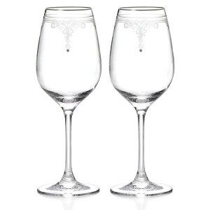 ジルスチュアート(JILLSTUART)ワイングラスペア340ccGW4132-63393A