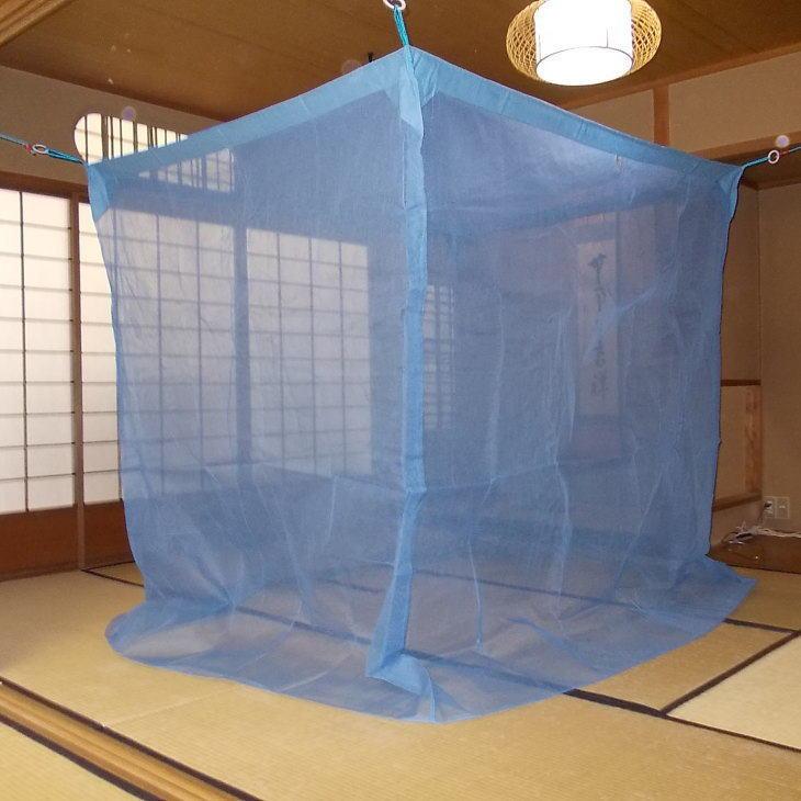 京都西川の蚊帳(かや) 清流 3畳用 150×200×190センチ