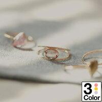 指輪10金K10ゴールドリングイエローゴールドピンクゴールドホワイトゴールド天然石カラーストーン日本製
