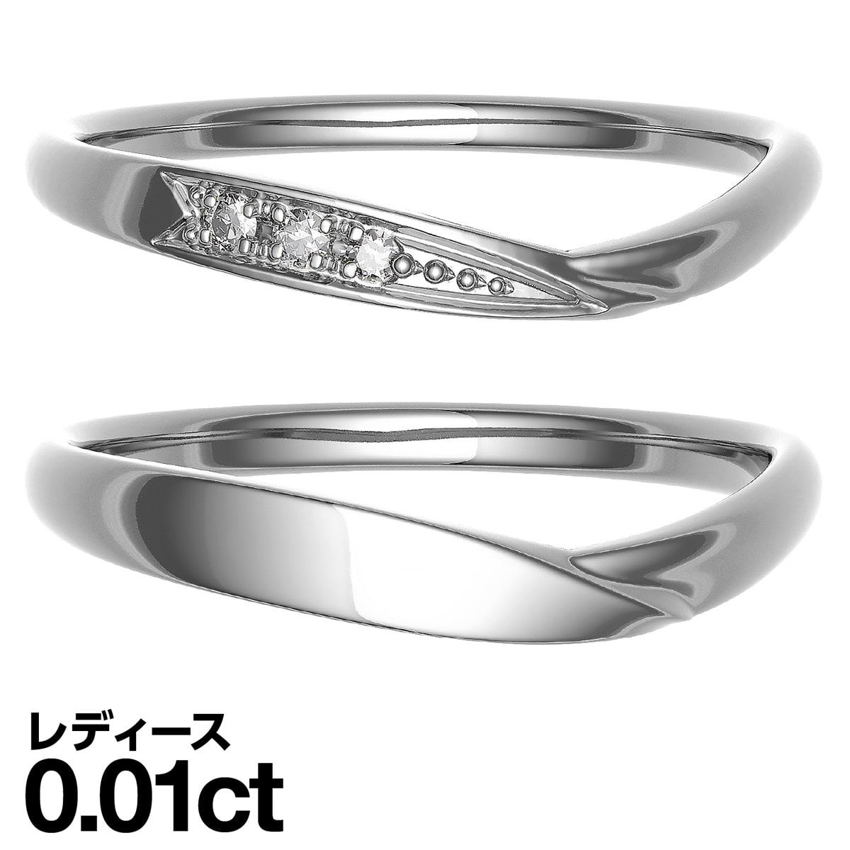 【送料無料】K18ゴールド ペアリング 2本セット 結婚指輪 マリッジリング 天然ダイヤモンド 日本製【結婚指輪】【マリッジリング】【プレゼント】【ギフト】 【ダイヤモンド】