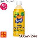 沖縄バヤリース石垣島パイン500ml×24本(果汁10%)【送料無料】|パインジュース1ケース|