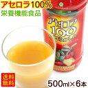アセロラ100(果汁100%)500ml×6本 <送料無料> │アセロラジュース アセロラドリンク ビタミンC│