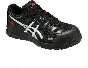 あす楽 ウィンジョブFCP103 アシックス [ASICS] 作業用靴 カラー:ブラック×ホワイト (9001) サイズ25.0センチ FCP103 アシックス 作業靴・安全靴・ワーキングシューズ、スニーカー風でおしゃれ