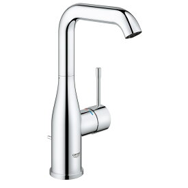 GROHE[グローエ] 洗面用水栓 【JP 3048 00】 エッセンス シングルレバー洗面混合栓(引棒付)寒冷地仕様 [メーカー直送][代引不可]