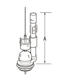LIXIL リクシル TF-2820C INAX イナックス トイレ 排水弁 フロート弁 (オーバーフロー管高さA:278mm) TF2820C