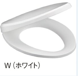 三栄水栓 SANEI トイレ用品 便座 前丸便座 PW9032-W