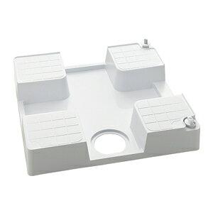 SP1390N-R KVK ケーブイケー 水栓コンセント内蔵型防水パン (右仕様) 水栓コンセント内臓型 防水パン (右仕様) 腰高タイプ 緊急止水機能付 洗濯パン、洗濯機パン、防水パン