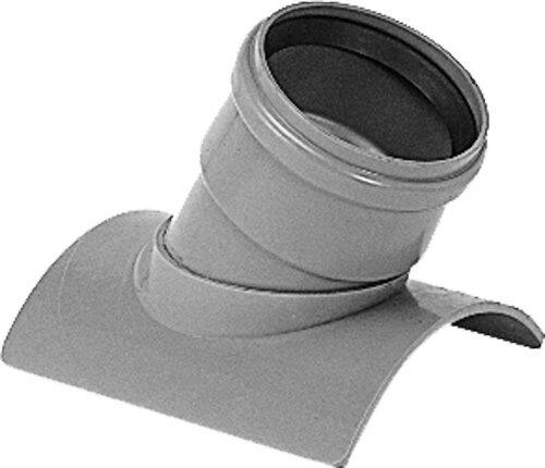 下水道関連製品>下水道継手>支管 塩ビ管用管軸60度支管 K60SVR K60SVR200-150 Mコード:75555 前澤化成工業