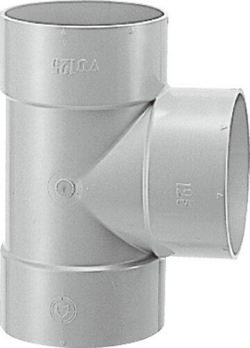 下水道関連製品>DV継手/VU継手>VU継手 VU90゜Y VUDT50 Mコード:76941 (前澤化成工業、積水、東栄管機 他)配管部品,管材