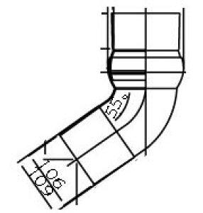 INAX イナックス LIXIL リクシル トイレ 簡易水洗便器 トイレーナ 専用便槽部品 無臭便槽用 自在エルボ BT-13R