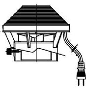INAX イナックス LIXIL リクシル トイレ 簡易水洗便器 トイレーナ 専用便槽部品 無臭便槽用 排気扇 BT-18R