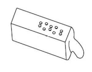 INAX イナックス LIXIL リクシル ビデ用品番:H20-3401 トイレ シャワートイレ 交換用ノズル先端
