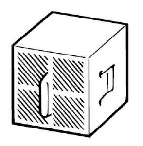 CWA-29 あす楽 INAX イナックス LIXIL リクシル トイレ シャワートイレ用付属部品 脱臭カートリッジスーパーセピオライト 脱臭カートリッジ (寸法 45×45×40)