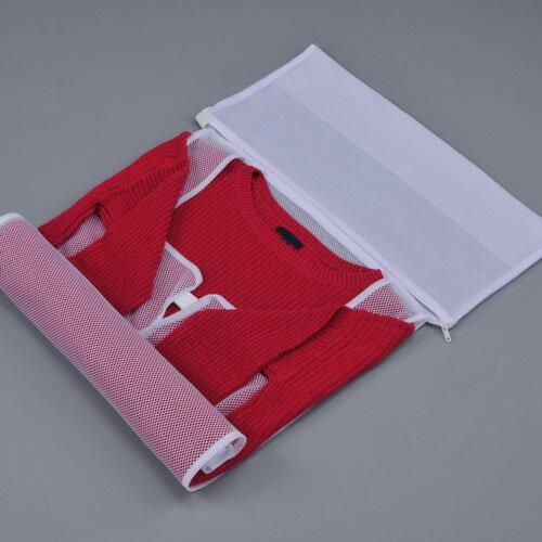 【メール便送料無料】ネットdeきれい ジャケット セーター 大判タイプ かさばる衣類に!【zai】