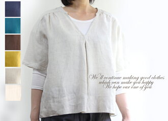 Linenblousepur over linen blouse V neck linen blouse olive yellow natural off-white Midnight Blue Brown Navy M L 2 l 3 l 4 l size large size on simple layered linen