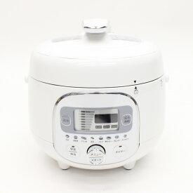 【送料無料】ヒロコーポレーション電気圧力調理鍋 HR-P07W【ホワイト】ほったらかし調理 圧力調理 煮込 無水調理 角煮 時短料理 炊飯器4合 夏の暑い日 冬に温かい