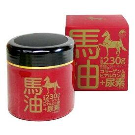 【レターパックでお届け】日本製 馬油クリーム+尿素 モイストクリームEX 230g【郵便でお届け】ユニマットリケン肌荒れ 美容 ハンドクリーム 保湿コラーゲン ヒアルロン酸 無香料 合成色素 アルコールフリー
