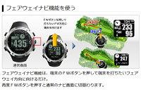 ☆ナイスショット!!【送料無料】【ホワイト】ショットナビGPSゴルフナビウォッチタイプ(W1-FW-W)腕時計型ゴルフナビGPSゴルフナビゲーター【高感度GPS搭載・フェアウェイナビ機能】簡単操作・シンプル機能
