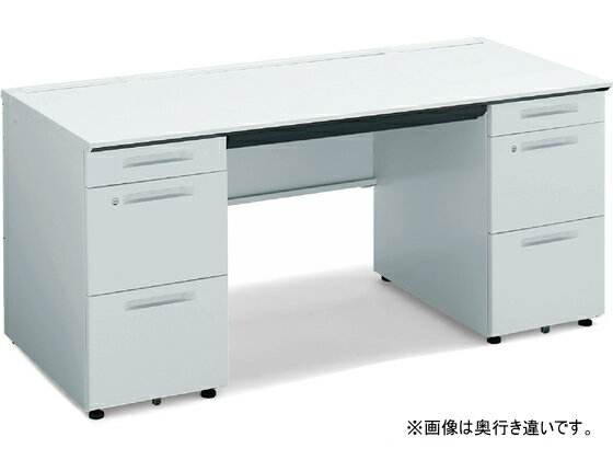 コクヨ/iSデスク 両袖デスク A4タイプ W1600D750 ホワイト