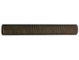 銀鳥/丸筒 ワニ皮 50×360mm/M5-M36