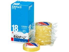 ニチバン/セロテープ エルパック 18mm×35m 大巻 12巻/LP-18【ココデカウ】