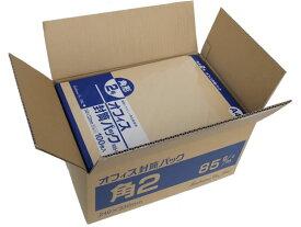 クラフト封筒 角2 85g/m2 500枚/K85-K2