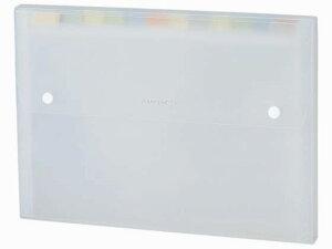 セキセイ/ドキュメントファイル A4 13ポケット ホワイト