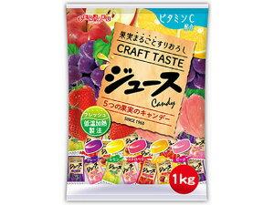 【お買い物マラソン期間中ポイント5倍】扇雀飴本舗/まるごと果実ジュースフルーツキャンデー 1kg