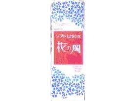アスト/花の岡ソフトちり紙 白 1200枚×6パック/610042