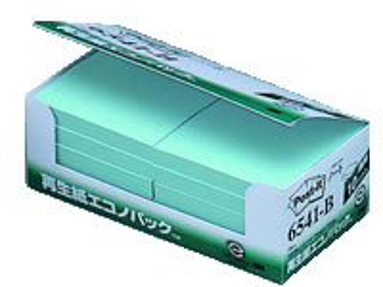 3M/ ポスト・イット 再生紙エコノパック ブルー 10冊/6541-B