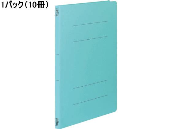 コクヨ/フラットファイルV B4タテ とじ厚15mm 青 10冊/フ-V14B