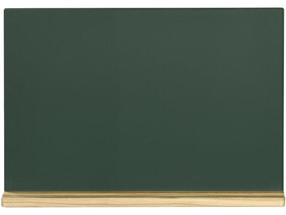 馬印/木製黒板(壁掛) 粉受けクリア塗装 300×450mm/W1G