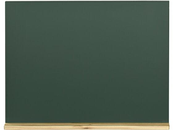 馬印/木製黒板(壁掛) 粉受けクリア塗装 450×600mm/W2G