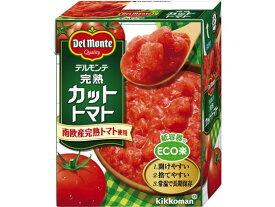キッコーマン/デルモンテ完熟カットトマト 388g