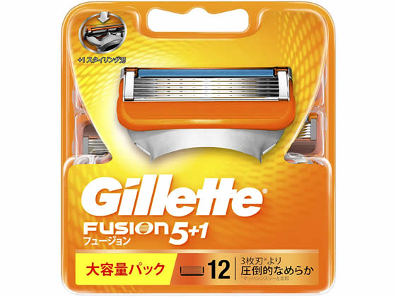 P&G/ジレット フュージョン5+1 替刃12個