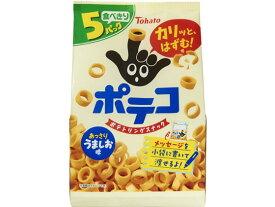 東ハト/ポテコ うましお味 5袋入