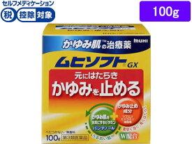 【第3類医薬品】薬)池田模範堂/かゆみ肌の治療薬 ムヒソフトGX 100g【ココデカウ】