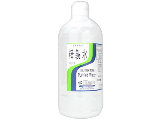 【第3類医薬品】薬)大洋製薬/精製水 500ml