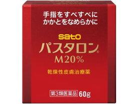 【第3類医薬品】薬)佐藤製薬/パスタロンM20% 60g