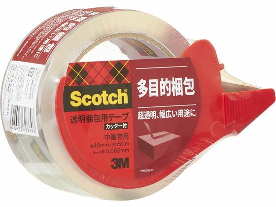 3M/透明テープ カッターディスペンサー付/313D-1PN